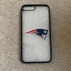 NWOT NEW ENGLAND PATRIOTS IPHONE 8+ CASE